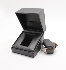 Square paper box craft paper sliding drawer box for wrist watch, pull out paper box