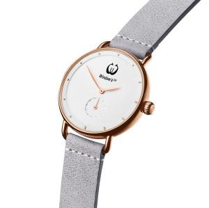 سيدة ساعة اليد مشاهدة الحد الأدنى نمط مخصص شعار حركة كوارتز ساعة