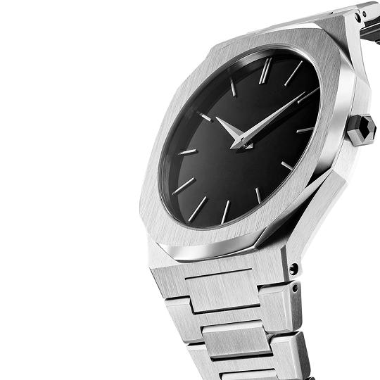 Reloj personalizado con movimiento suizo de acero inoxidable 316L del fabricante de relojes personalizados