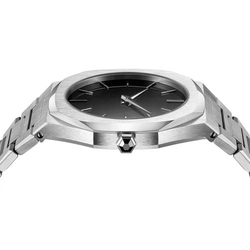 Custom Logo 316L Edelstahl Schweizer Uhrwerk vom Custom Uhrenhersteller