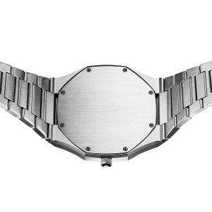 شعار مخصص 316l الفولاذ المقاوم للصدأ ووتش حركة السويسرية من مصنع الساعات المخصصة