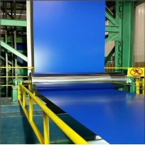 PPGI PPGL PVC PET Film Laminated Prepainted  Steel Coil Sheet with PE PVDF Coating