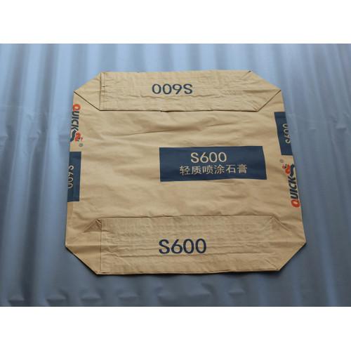Accept custom kraft paper bag cement valve packing bag