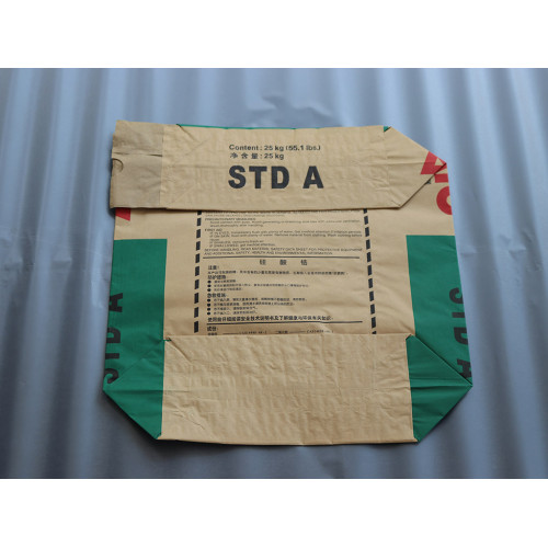 Factory sale 25kg 50kg kraft paper valve packaging bag for cement