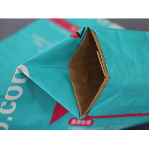 25kg 3 layer kraft paper cement packing bag for dry mortar,gypsum,wall putty powder,tile adhesive
