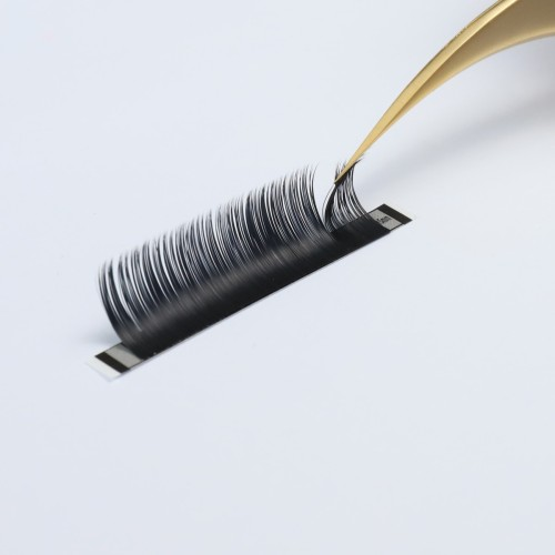 natural eyelashes private label Super Soft Individual 3D False Eyelash Extensions
