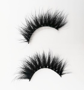 banana eyelashes make your own eyelashes eyelashes pre glued 100% mink eyelashes private label 3 pairs eyelashes