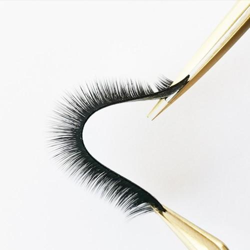 3d korean silk eyelashes curler arison eyelashes extensions led lamp
