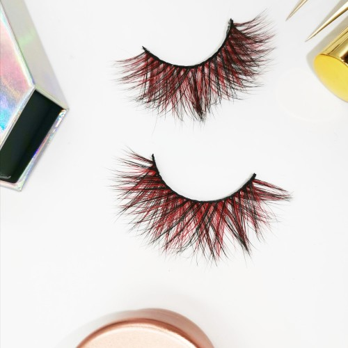 color strip eyelashes thick 3d mink eyelashes classic and volume lashes brand packaging eyelashes accesories