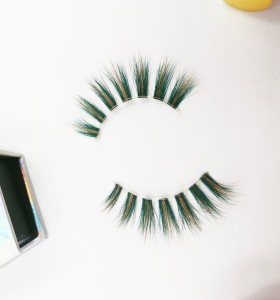 Hand Made Natural Material Fashion Beauty mink lashes animal With Custom Eyelash Packaging