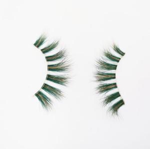 Hand Made Natural Material Fashion Beauty mink lashes animal With Custom Eyelash Packaging