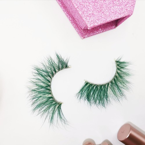 High Volume 100% Real Hand Made mink eyelashes book Extension Strip With Custom Packaging