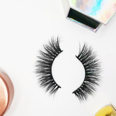 Great Discount Hot Selling 100% Real Handmade 3d Mink Eyelashes real mink fur eyelashes