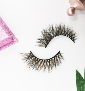 Wholesale Free Shipping Private Label Custom Logo 100% Real Fur Lashes individual eyelashes single