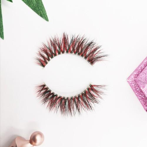 Clear Handmade Strip Individual 100% Siberian Fur 3d Full Mink Eyelashes royal eyelashes