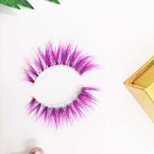 Own Brand Hand Made Self Adhesive Lashes 10 Pairs False Strip Wispy 3d Mink growth eyelashes