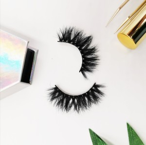 Custom Packaging Private Label Wispy Thick High End handmade 3d mink eyelashes