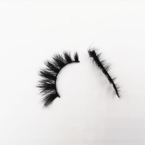 Custom Packaging Private Label Fake Lashes Natural false eyelashes wispies
