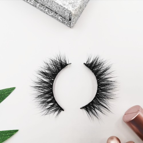 New Fast Shipping Best Price Customized Luxury Hand Made 3d real mink fur eyelashes