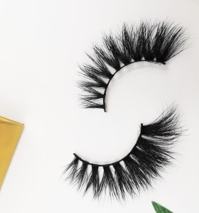 Factory Free Sample Reusable Long Thick Comfortable Handmade hand made eyelashes