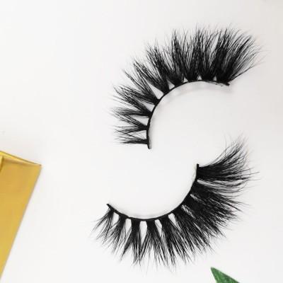 Factory Free Sample Reusable Long Thick Comfortable Handmade hand made eyelashes