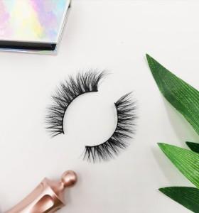 custom eyelash packaging box new design private label lashes individual faux mink eyelashes