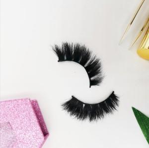 Hair False eyelashes private label custom lashes Thick eyelashes mink wholesale