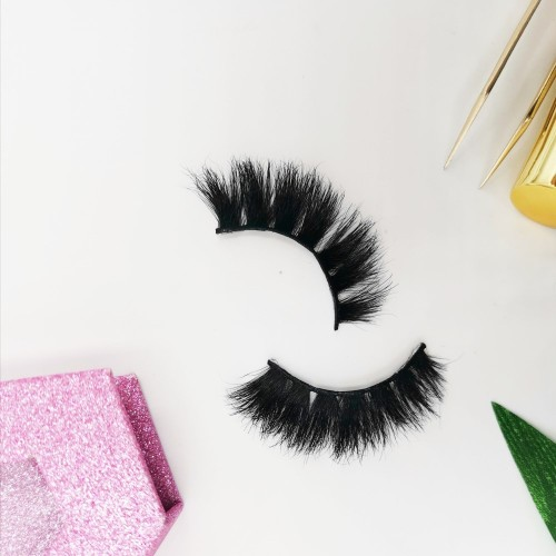 Hair False eyelashes private label custom lashes Thick eyelashes mink wholesale