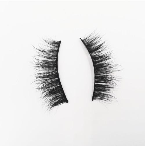 Wholesale 3D False Mink Eyelash Packaging Box hot sale 3d mink eyelashes hand made