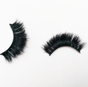 Private Label Trays Book Free Samples Human Hair Synthetic natural looking eyelashes