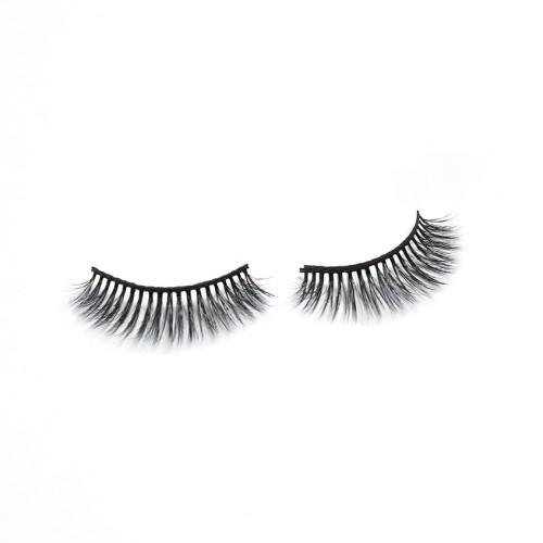 Wholesale Cheapest Price Oem Producer Supply Thick 3d Silk eyelashes handmade With Custom Logo
