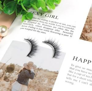 3d Silk Eyelashes Qingdao Fashion Unique Beauty New Self-Adhesive Individual eyelashes for wholesale