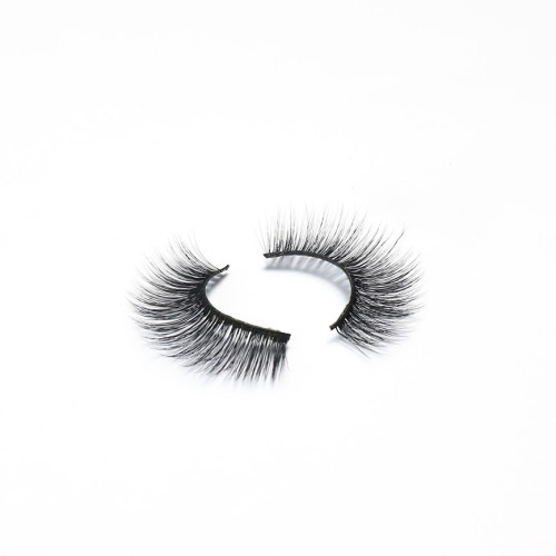 Custom Packaging Fast Shipping Create Your Own Brand Waterproof invisible band eyelashes