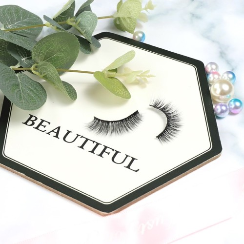 100% Cruelty Free 3D Silk Fiber Eyelashes With Customized Three Pairs Eyelashes Vendor
