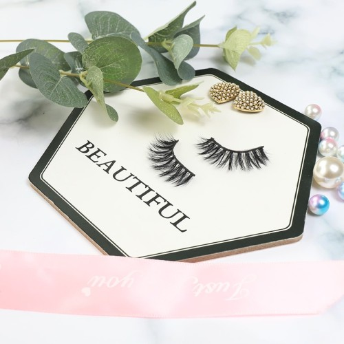3D Silk Eyelashes Vendor Lash With Purple Packaging Boxes Hand Made