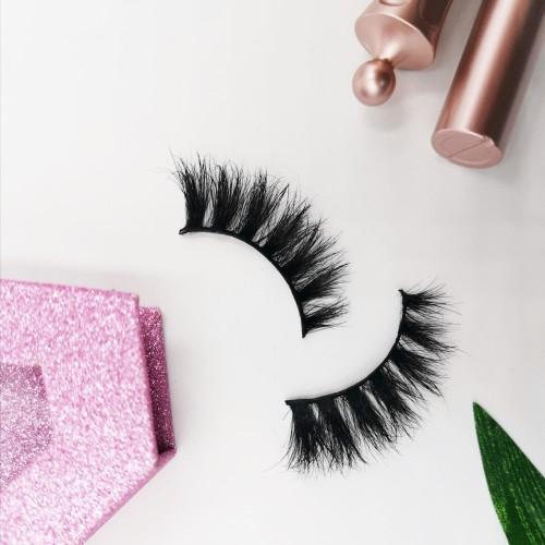 False Eyelash Own Brand New Coming Style Thick Long Real natural looking eyelashes