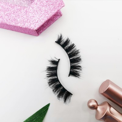 Horse Hair Eyelash Wholesale High Quality Natural Black And Long Thick Eyelashes Natural Black