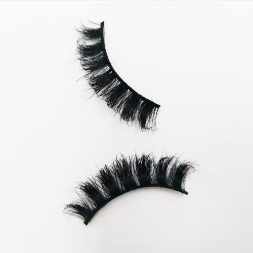 Horse Hair Eyelash Wholesale High Quality Natural Black And Long Thick Eyelashes Natural Black