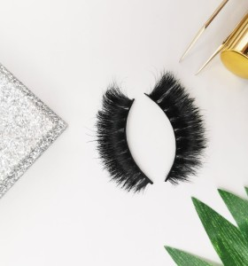 False Horse Hair Strip Eyelash Wholesale Custom Design Makeup Natural Looking synthetic lash supplier