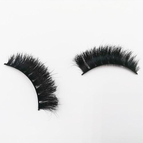 False Horse Hair Strip Eyelash Wholesale Custom Design Makeup Natural Looking synthetic lash supplier