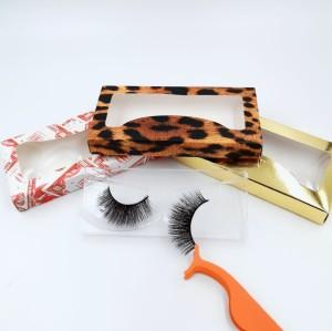 3d Mink Eyelashes Manufacturer Top Grade Private Label Premium red cherry eyelashes wholesale
