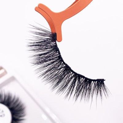 Own Brand New Fashionable Light Weight false eyelashes box setk Magnetic Eyelashes
