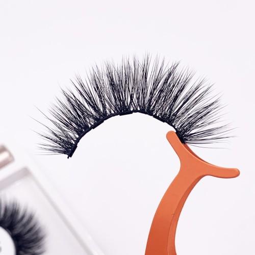 Own Brand New Fashionable Light Weight false eyelashes box setk Magnetic Eyelashes