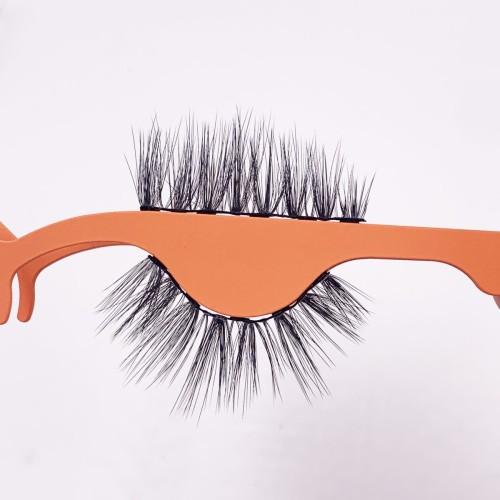 Own Logo New Fashionable Reusable Magnetic eyelashes box vendork Magnetic Eyelashes