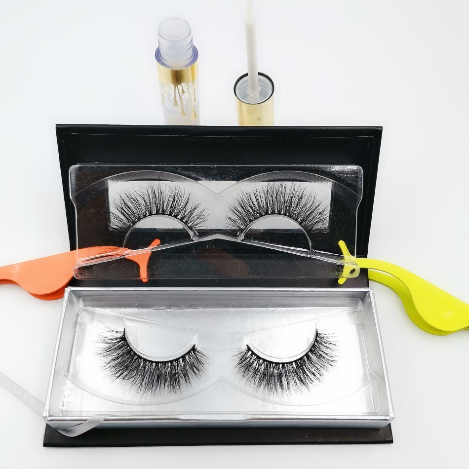custom package, mink fur lashes
