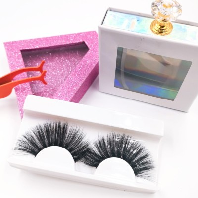 Wholesale New Styles Custom Package Own Brand Premium Black Soft good quality eyelashes