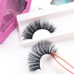 Wholesale New Styles Custom Package Own Brand Premium Black Soft good quality eyelashes