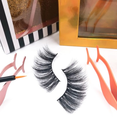 false eyelashes reviews Custom Packaging Professional Own Brand Natural Makeup 3d Silk Strip Eyelashes
