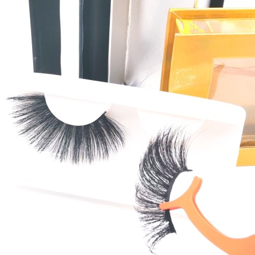 one by one eyelashes Price Custom Packaging Cruelty Free Natural Black 3d Silk Eyelashes