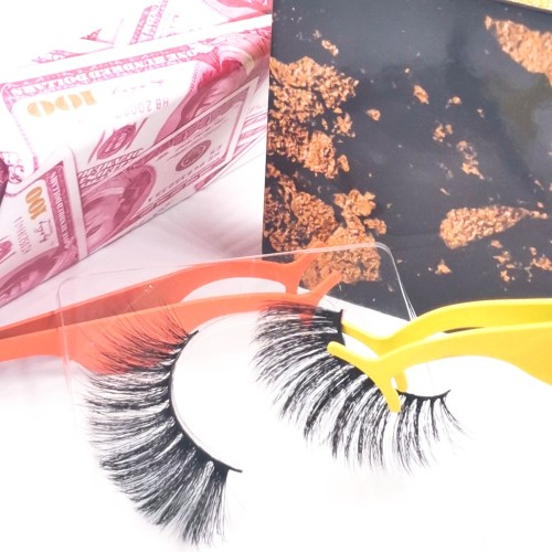 eyelashes made in vietnam High Quality Private Label Luxury 3d Synthetic Hair Silk Lashes Eyelash
